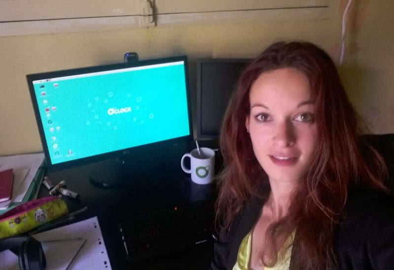 Marie, futur developpeuse de la promotion Cosmos