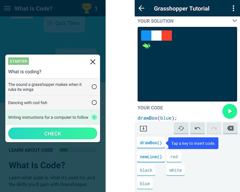 Grasshopper pour apprendre le JavaScript