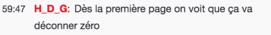Commentaire HDG Gamehub