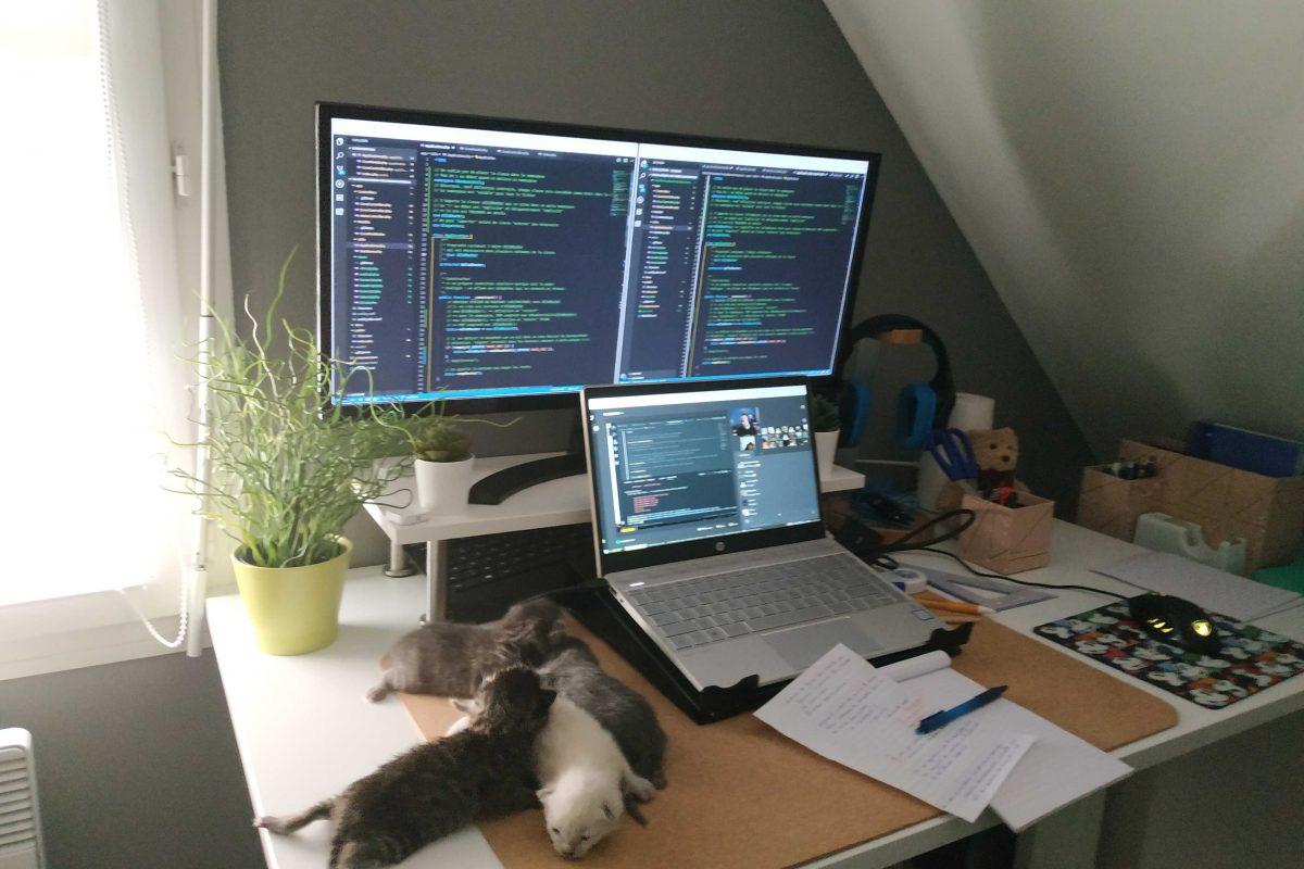 bureau-d'une-développeuse